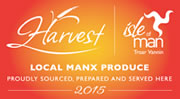 Local Manx produce, proudly sourced, prepared and served here