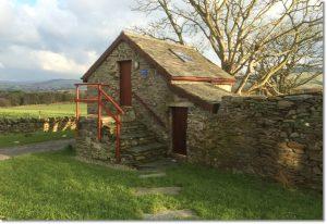 Hostel-style accommodation in the Bothy at Knockaloe Beg Farm