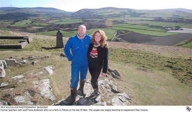 John and Fiona on Corrin's Hill