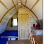 WIgwams - Glamping at Knockaloe Beg Farm, Isle of Man