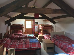 Bunk barn hostel accommodation at Knockaloe Beg Farm