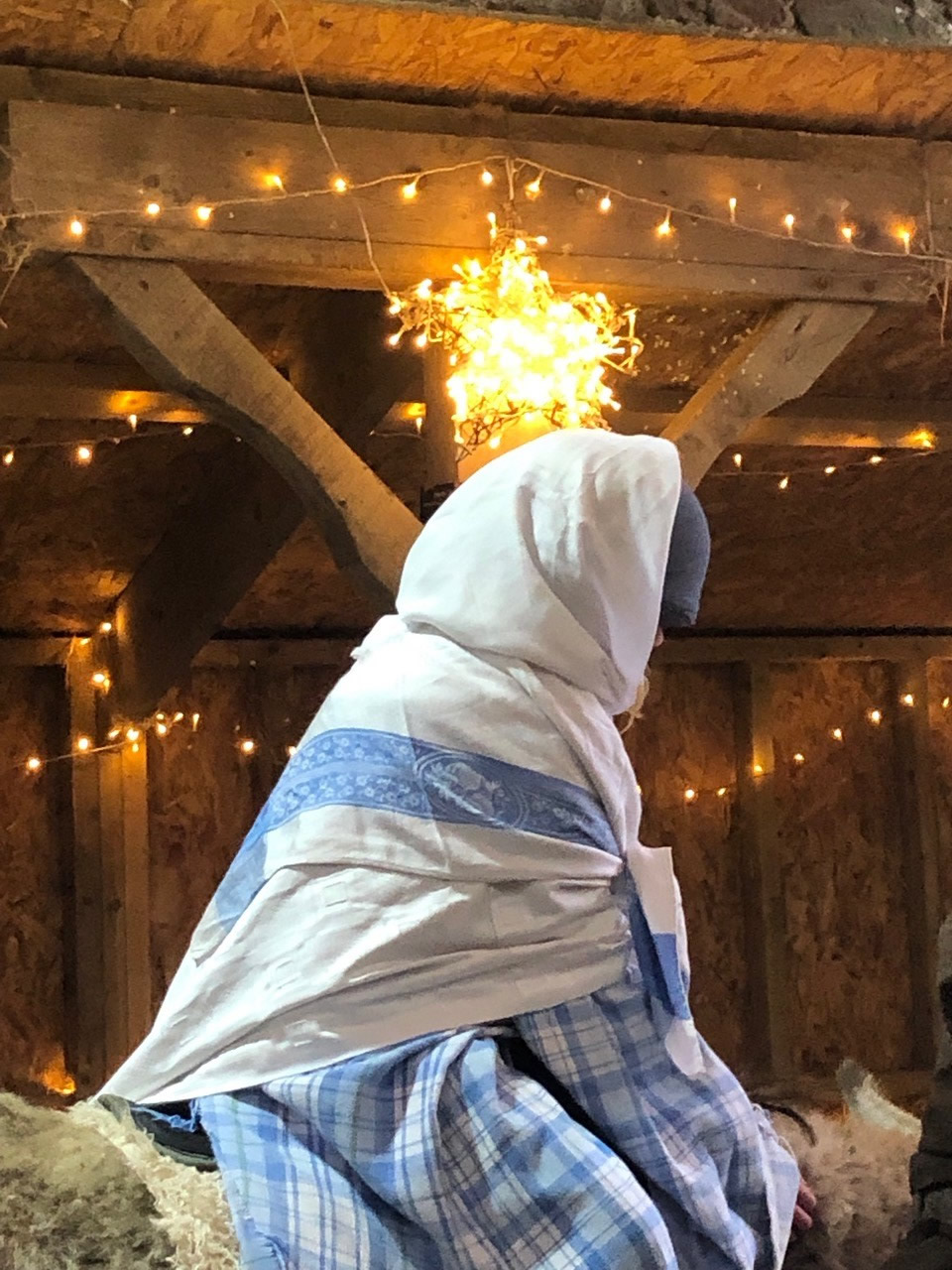 Born in the Barn at Knockaloe Beg Farm - Nativity play